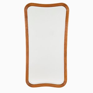 Scandinavian Modern Full Length Mirror from Glas & Trä, 1940s
