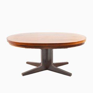 Tavolo da pranzo Flip Flip in palissandro di Dyrlund Smith, Danimarca, anni '60