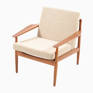 Mid-Century Teak Easy Chair by Arne Vodder for Glostrup
