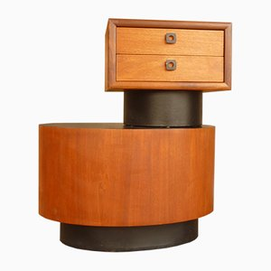 Side Table & Chest of Drawers from RS Associates, 1960s