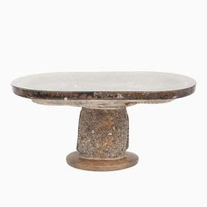 Table d'Appoint Antique en Marbre Bio