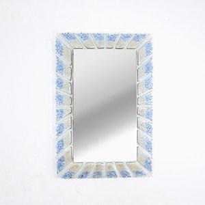 Vintage Mid-Century Murano Glass Mirror, 1970s