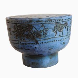 Vaso vintage in ceramica di Jacques Blin