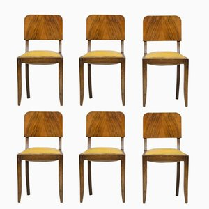 Vintage French Dining Chairs, Set of 6