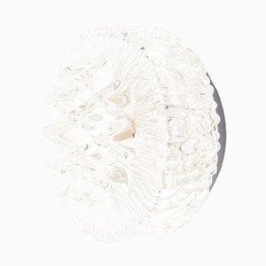 Aplique geométrico de vidrio, años 60