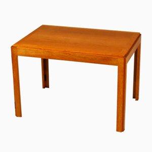 Tavolino modello nr. 5383 pieghevole in quercia di Børge Mogensen per Fredericia, anni '60
