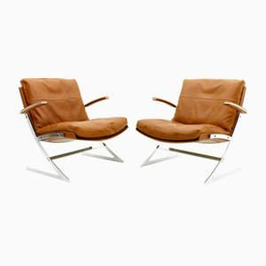 Danish Lounge Chairs by Preben Fabricius for Arnold Exclusiv, 1972, Set of 2