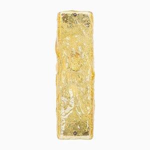 Aplique en ámbar de cristal de Murano de Limburg, años 60