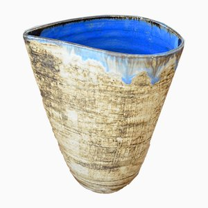 Jarrón alemán vintage de cerámica de Gerhard Liebenthron