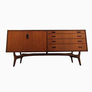 Mid-Century British Teak Credenza Sideboard by Grange London, 1950s