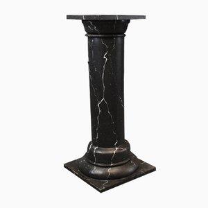 Pedestal danés vintage veteado, años 30