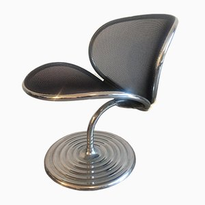 O Line Lounge Chair by Herbert Ohl for Wilkhahn, 1982