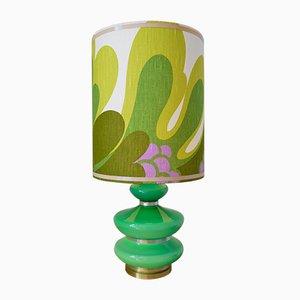 Tischlampe im Flower Power Stil, 1970er