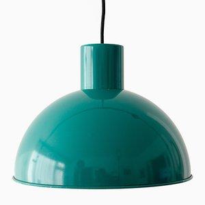 Vintage Green Midi Bunker Lamp by Johannes Hammerborg for Fog & Mørup, 1960s