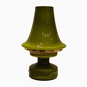Lampe de Bureau B124 Verte Vintage de Hans-Agne Jakobsson