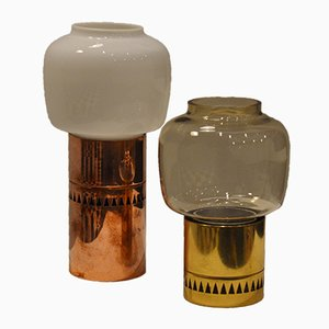 Vintage Kerzenhalter von Hans-Agne Jakobsson, 2er Set