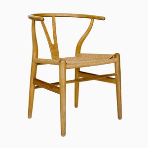 Mid-Century CH24 Wishbone Chair by Hans J. Wegner for Carl Hansen & Søn, 1960s