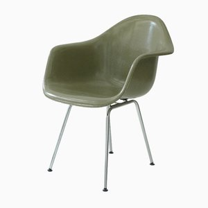 Poltrona DAX vintage di Charles & Ray Eames per Herman Miller
