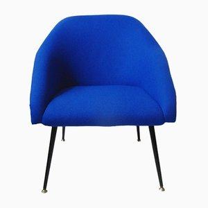 Silla club en azul, años 60