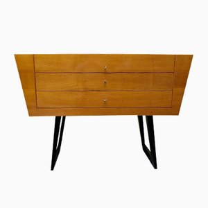 Italian Cherry Chest of Drawers, 1950s