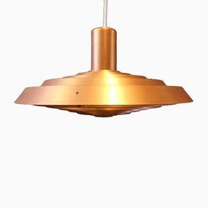 Lampe à Suspension avec Assiette en Cuivre par Poul Henningsen pour Louis Poulsen, 1960s