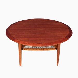 Tavolino da caffè Mid-Century di Johannes Andersen per CFC Silkeborg