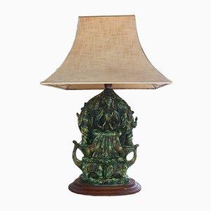 Französische Buddha Lampe, 1960er