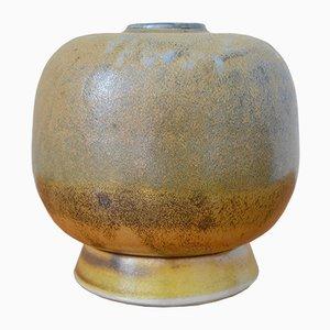 Jarrón alemán de cerámica de Ursula Schmidt, 1981