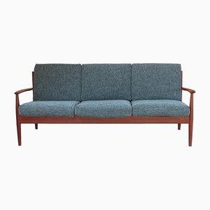 Model 118 Scandinavian Teak Sofa by Grete Jalk for France & Søn, 1960s