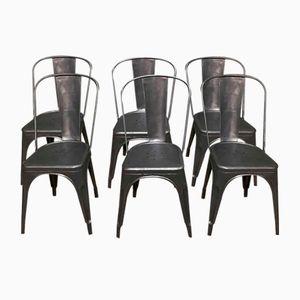Vintage Stühle von Xavier Pauchard für Tolix, 6er Set