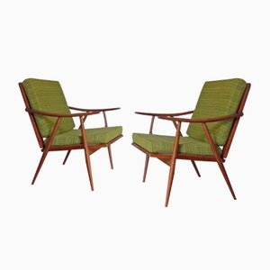 Boomerang Armchairs from Thonet, 1950s, Set of 2