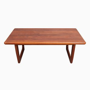 Danish Teak Coffee Table from Niels Bach, 1960s