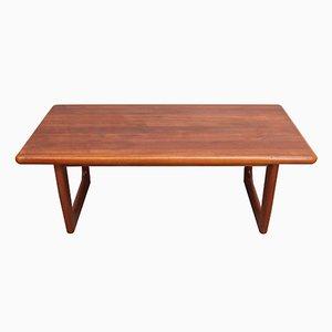Table Basse en Teck de Niels Bach, Danemark, 1960s