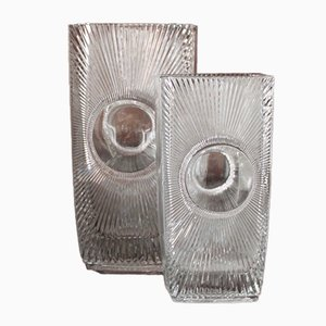 Osaka Vases by Rudolf Jurnikl for Libochovice, 1969, Set of 2