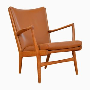 Mid-Century AP16 Lounge Chair by Hans J. Wegner for AP Stolen