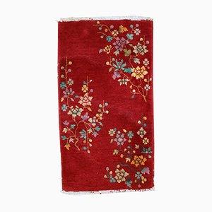 Chinesischer Handgeknüpfter Teppich, 1920er