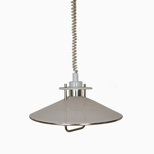 Scandinavian Suspension Lamp, 1970s