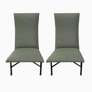 Lounge Chairs by Geneviève Dangles & Christian Defrance for Burov, 1957, Set of 2