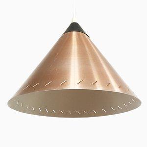 Lámpara colgante escandinava de Fog & Morup, años 70