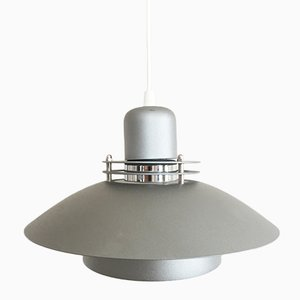Danish Aluminum Suspension Lamp from Jeka, 1980s