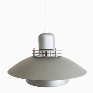 Lámpara colgante danesa de aluminio de Jeka, años 80