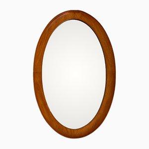 Specchio ovale di Pedersen & Hansen, anni '60