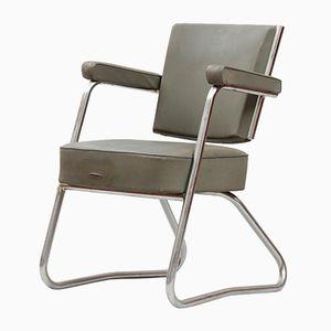 Chaise de Bureau Vintage Moderniste