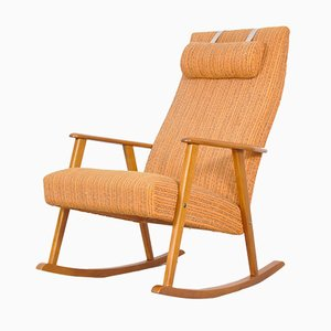 Schwedischer Mid-Century Modern Schaukelstuhl von Johanson Design, 1960er