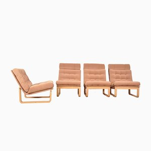 Sofá modular Mid-Century de Rud Thygesen & Johnny Sorensen para Magnus Olsen Durup, años 60