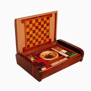 Caja de juegos florentina Art Déco, años 30