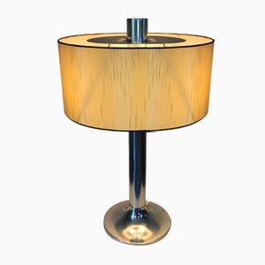 Lámpara de mesa de aluminio, años 70