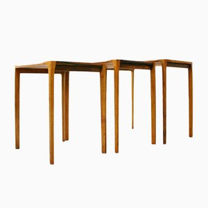 Mid-Century Nesting Tables by Rex Raab for Wilhem Renz