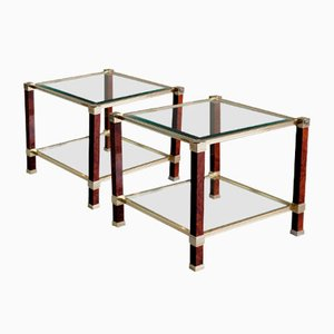 Side Tables by Pierre Vandel, 1980s, Set of 2