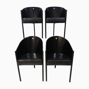 Sedie Costes vintage di Philippe Starck per Driade, set di 4
